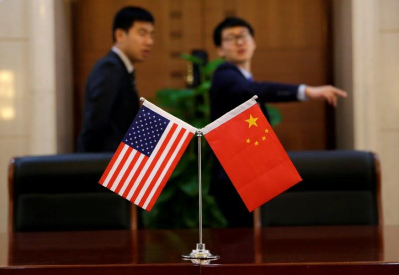 Investors fear an escalating trade war between Washington & Beijing