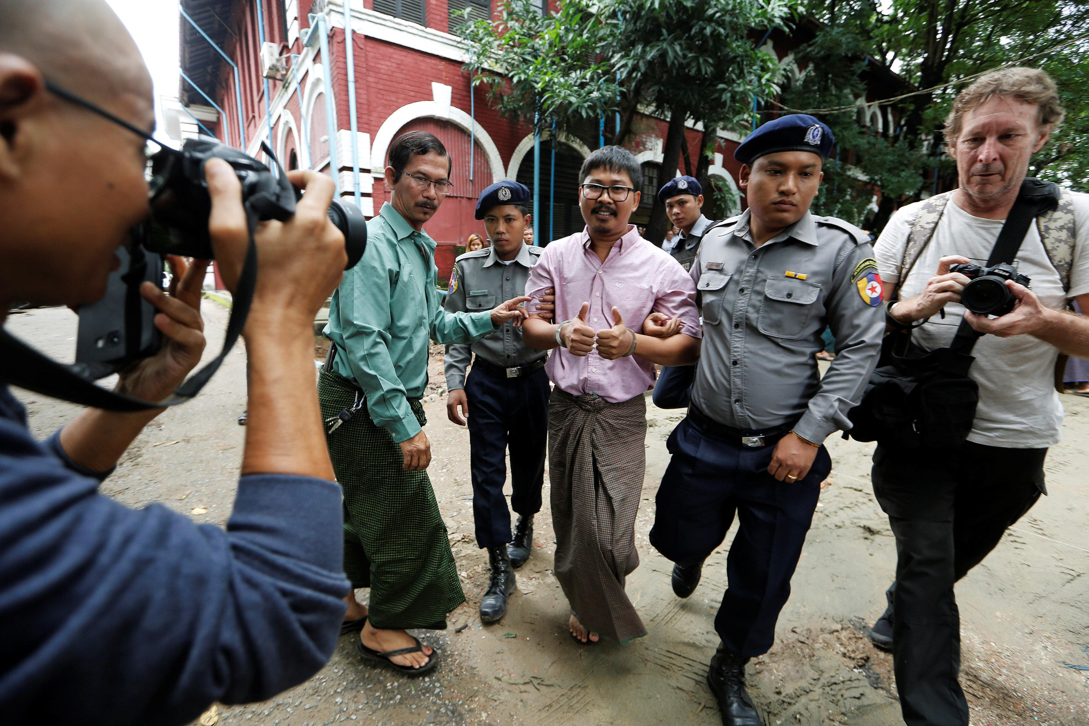0a07706abcec Timeline  Reuters journalists detained in Myanmar - Reuters
