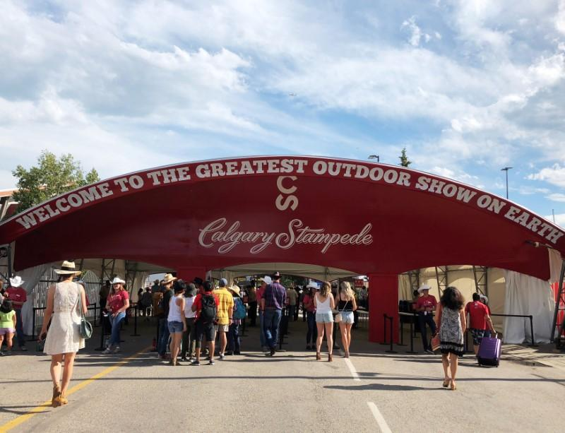 Parties Grow At Calgary Stampede As Firm Oil Prices Slowly