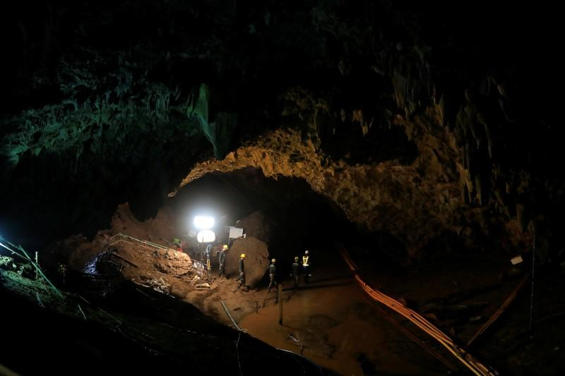 Grit, daring and beating terror: how Thailand's cave boys were rescued