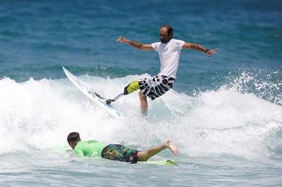 Israel holds surf competition for physically challenged