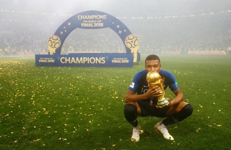 world champion teenager mbappe is game s new global star reuters