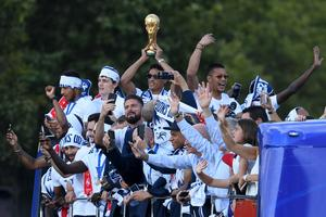 France World Cup parade