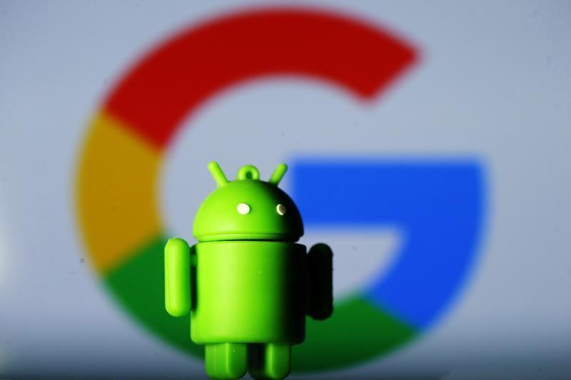 7月18日、EUは、米グーグルの携帯端末用OSのアンドロイドを巡り、過去最高の43億ユーロ(50億ドル)の罰金を科す方針。 昨年7月撮影(2018年 ロイター/Dado Ruvic)
