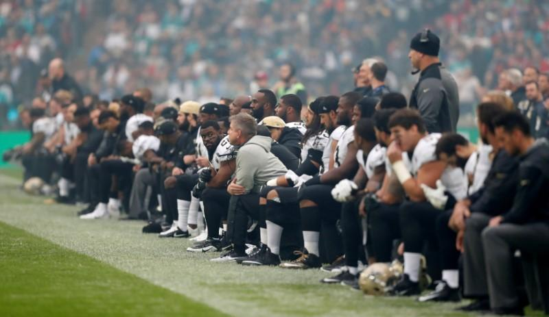NFL notebook: Trump criticizes NFL's anthem policy in tweet   Reuters