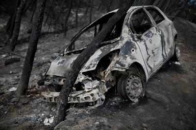 Aftermath of Greece's 'Armageddon' fire