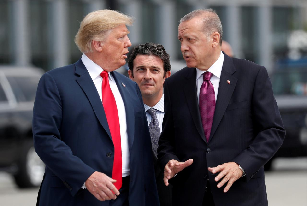 turkey will stand up to u s in face of sanctions threat over