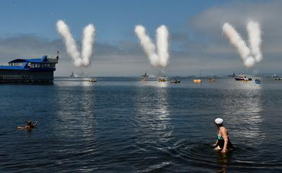 Putin marks Russia's Navy Day