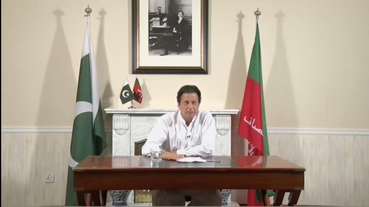 India's Modi and Pakistan's Khan discuss regional peace in…