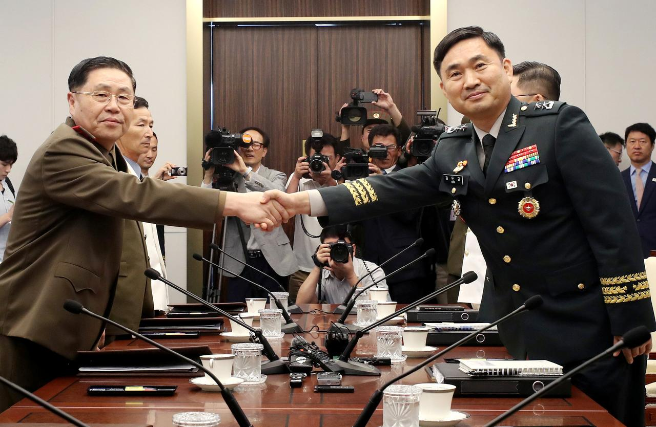 Two Koreas Discuss Reducing Military Tension Amid Reports Of North