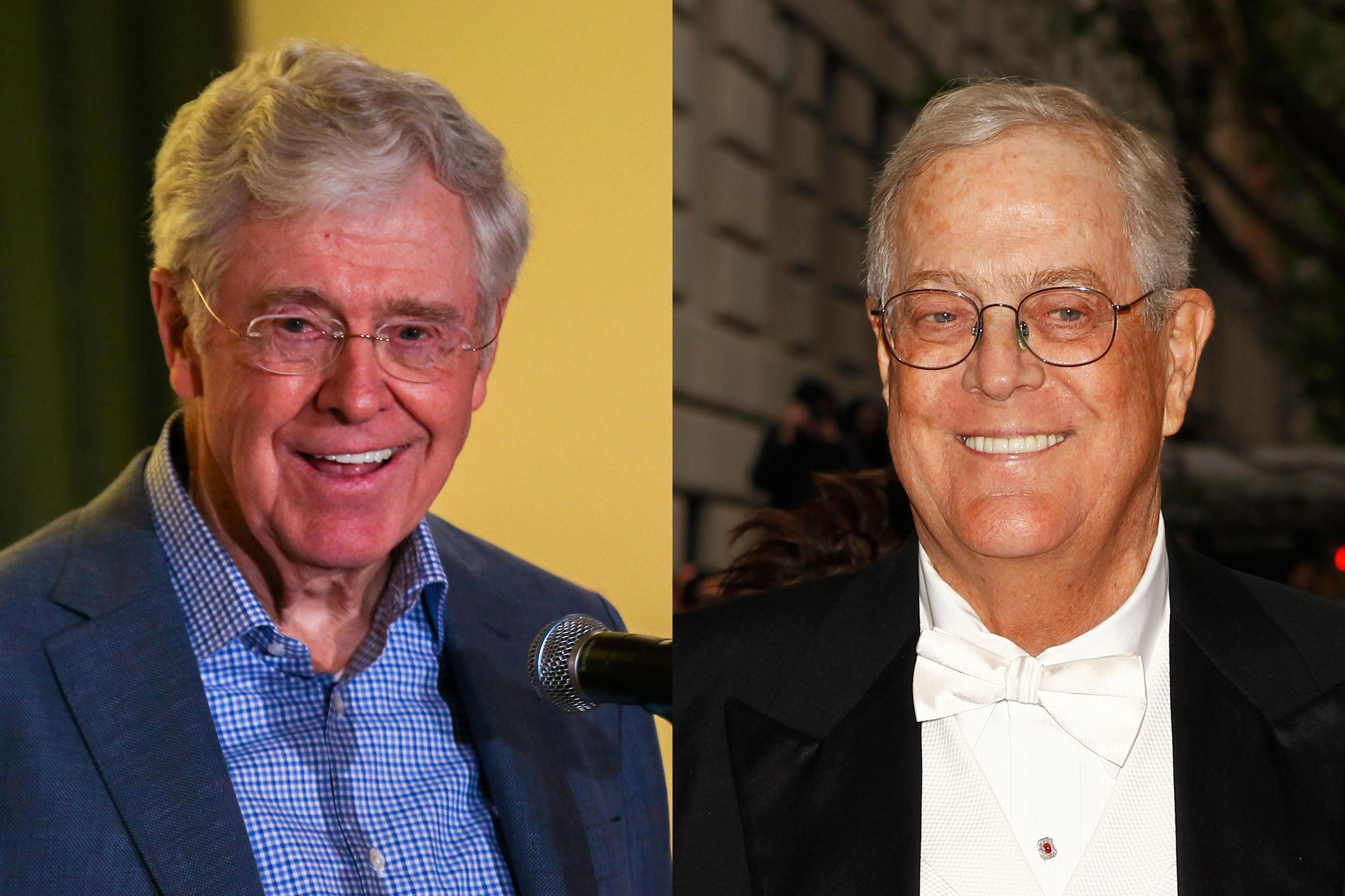 Trump Blasts Conservative Megadonors Koch Network As Overrated