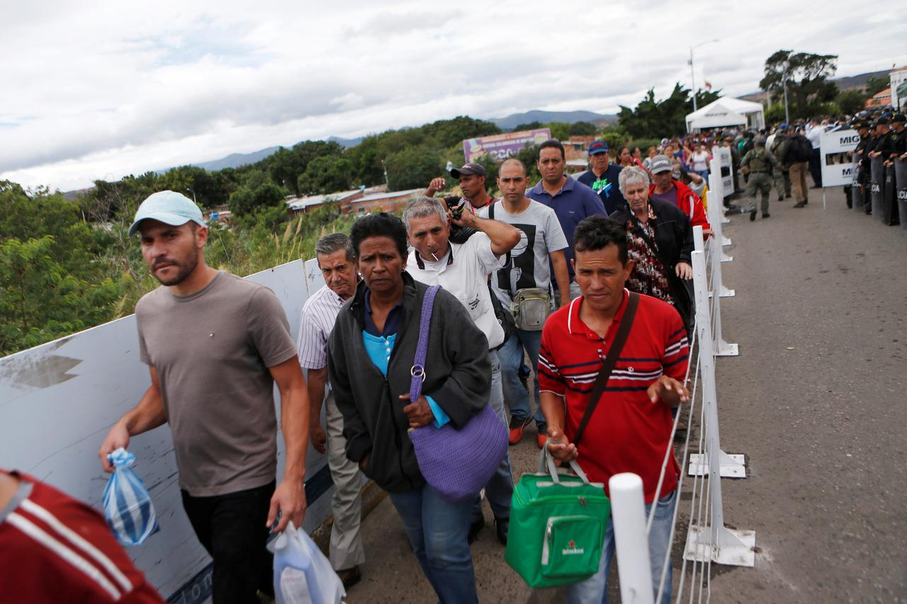 U S To Give Colombia 9 Million Help Venezuelan Migrants Haley