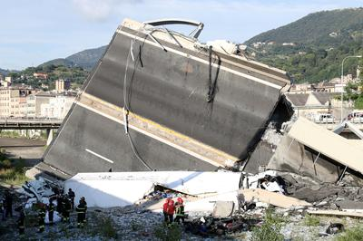Deadly bridge collapse in Italy