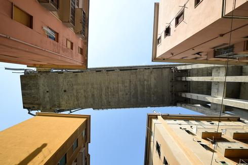 Under Genoa's collapsed bridge