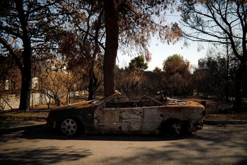 In the ashes of Greece's wildfires