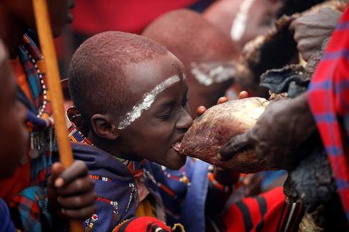Kenya's Maasai mark rite of passage