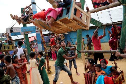 Celebrating Eid in Rohingya refugee camps