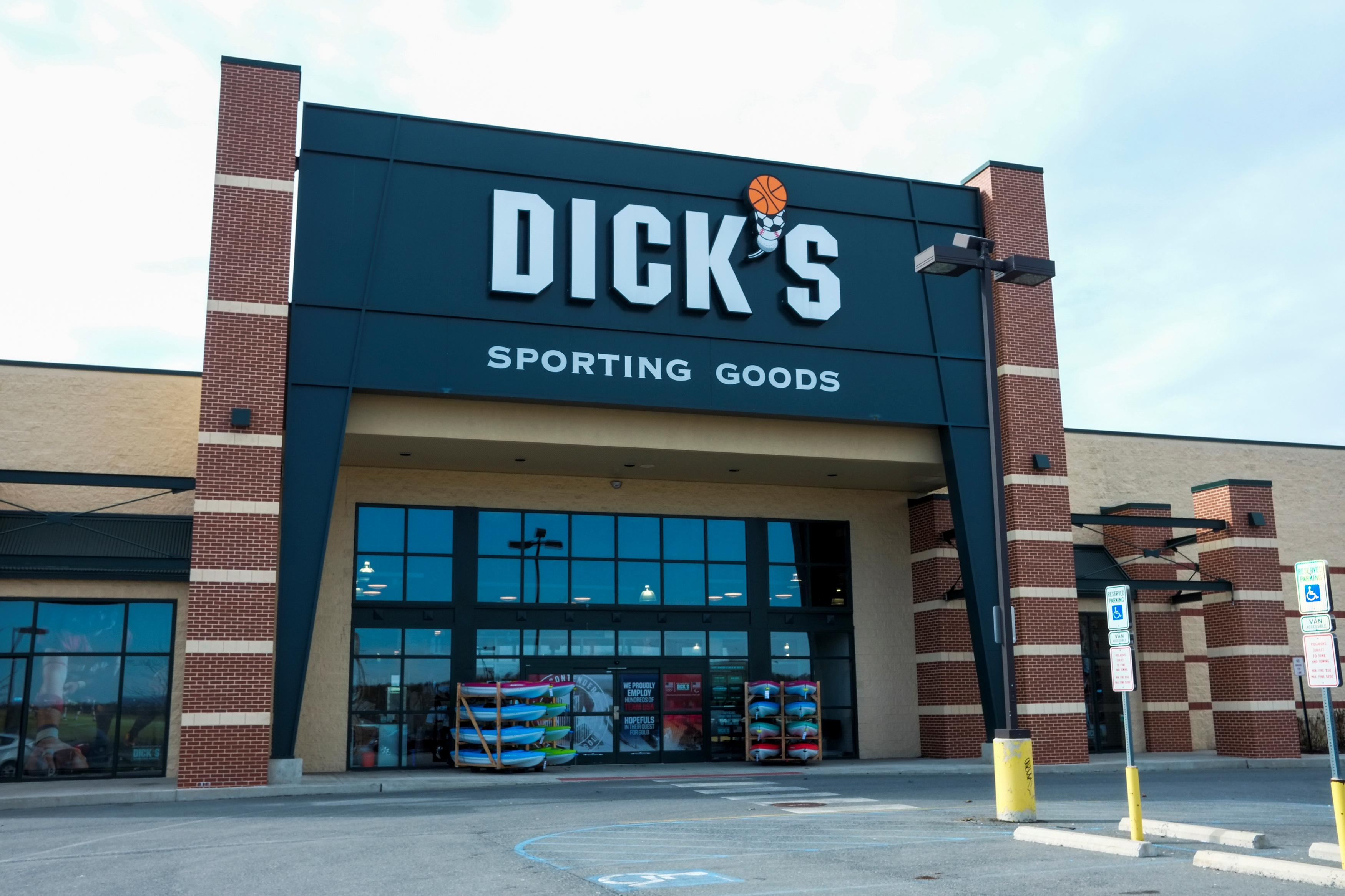 A general view of Dick's Sporting Goods store in Stroudsburg, Pennsylvania, U.S., February 28, 2018. Eduardo Munoz