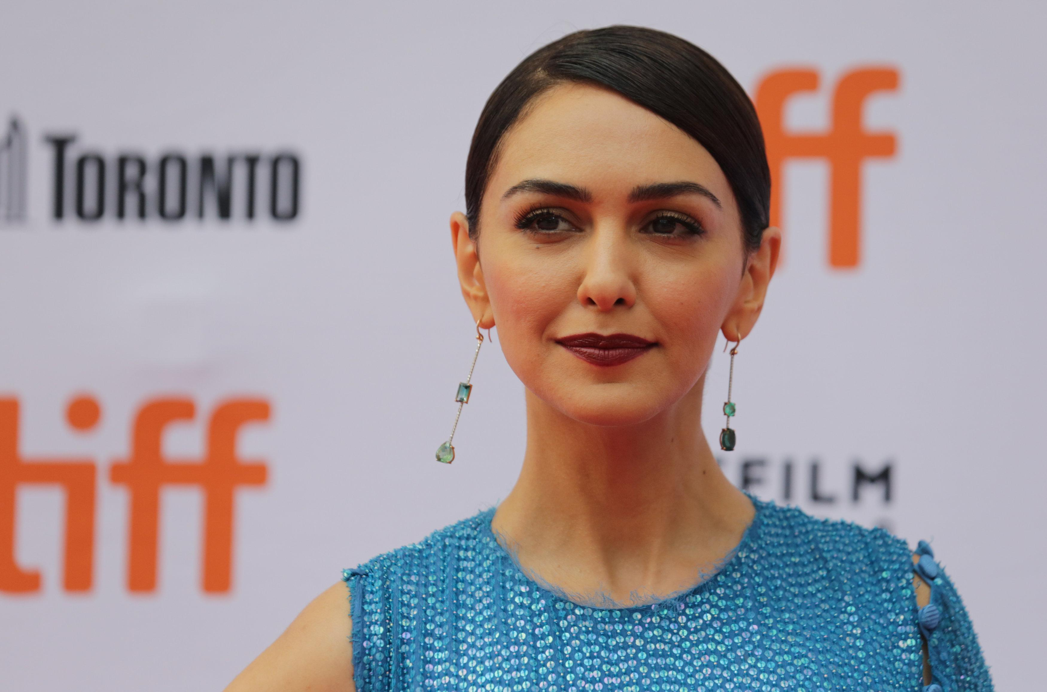 Actor Nazanin Boniadi arrives for the world premiere of Hotel Mumbai at the Toronto International Film Festival (TIFF) in Toronto, Canada, September 7, 2018. Chris Helgren