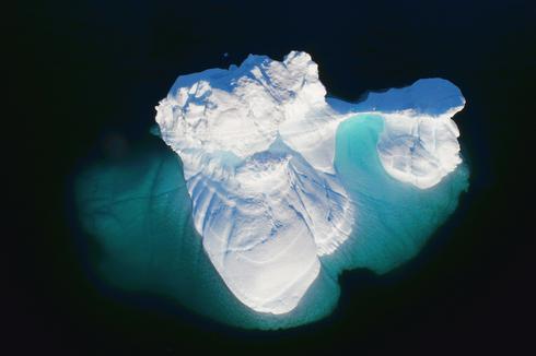 Aerial icebergs