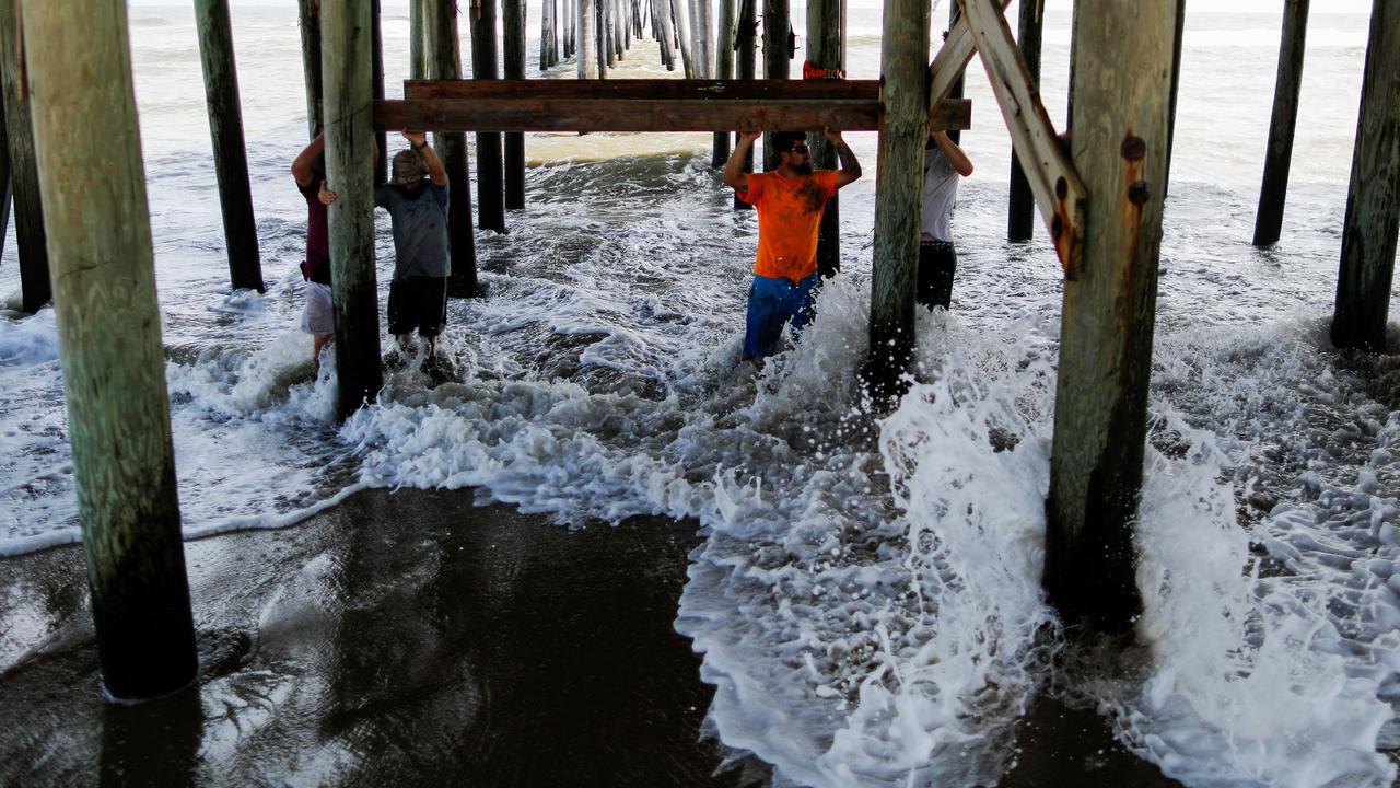 Hurricane raises questions about rebuilding along North