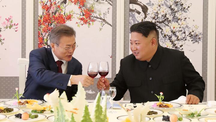 北朝鮮の金委員長、トランプ氏との再会談望む 非核化加速へ=韓国大統領