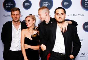 Wolf Alice wins Mercury Prize