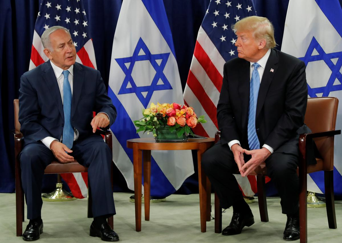 Trump says he wants two-state solution for Mideast conflict thumbnail