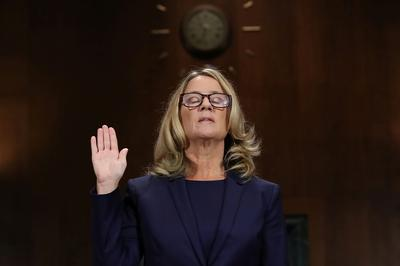 Kavanaugh and his accuser testify