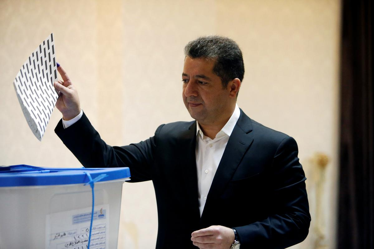 Iraqi Kurds hold election one year after failed independence bid