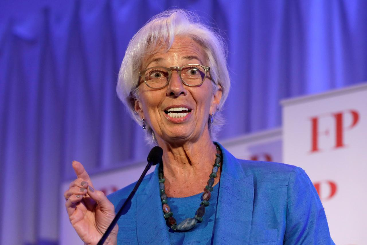 IMF's Lagarde warns trade conflicts dimming global growth