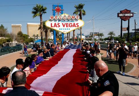 Las Vegas marks shooting anniversary
