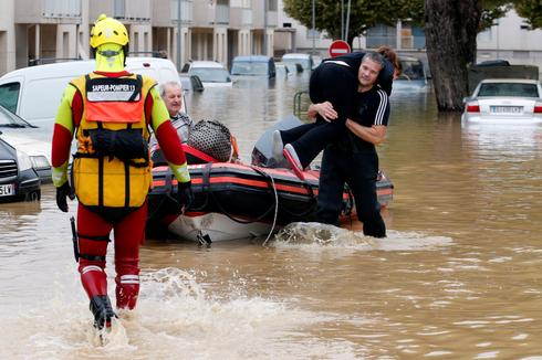 Deadly flash floods in southern France