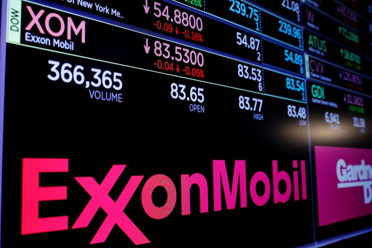 New York sues Exxon for misleading investors on climate