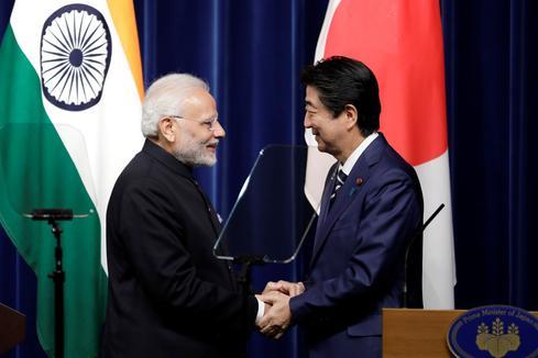 Modi visits Japan