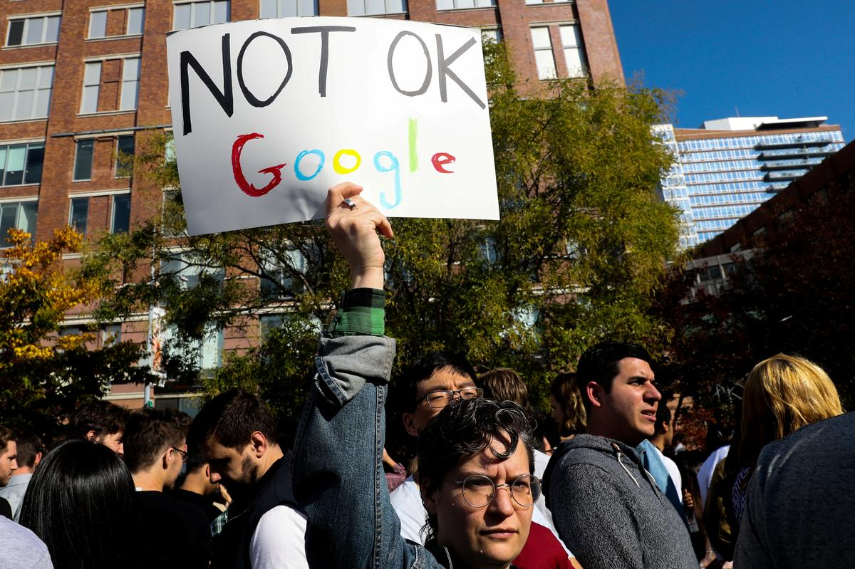 Google Workers Around World Protest Harassment, Inequality