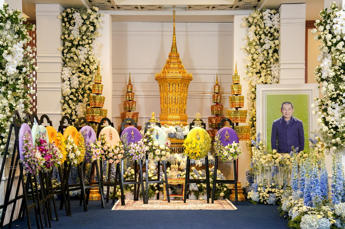 Leicester City owner's Buddhist funeral starts in Thailand with…