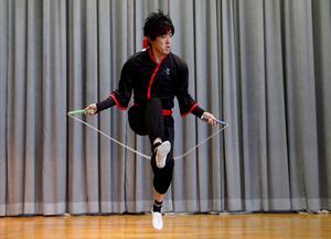 Japanese rope skipper sets Guinness World Record