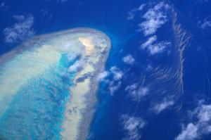 Australia's Great Barrier Reef from above