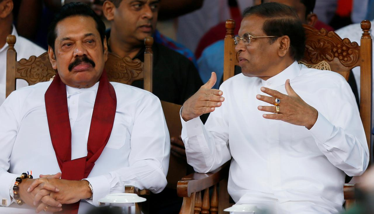 Sri Lanka president calls third vote on no-confidence motion against premier