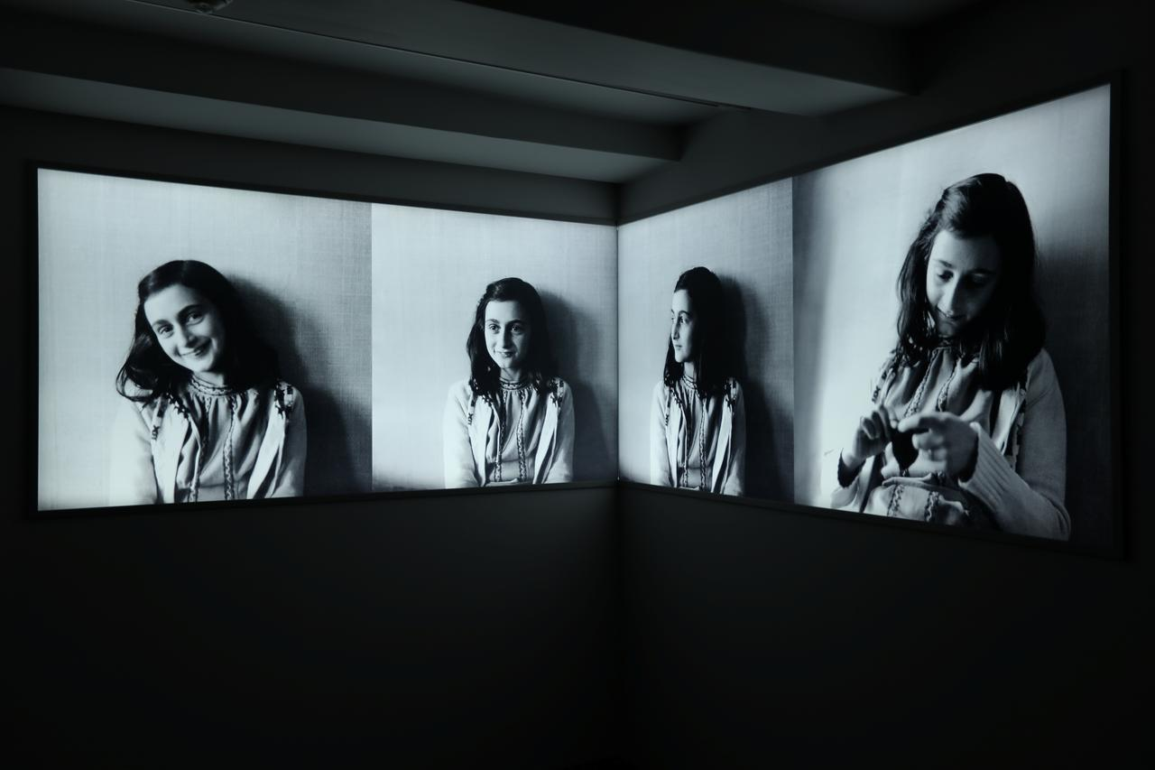 Empty, haunting Anne Frank House Museum revamped for new generation