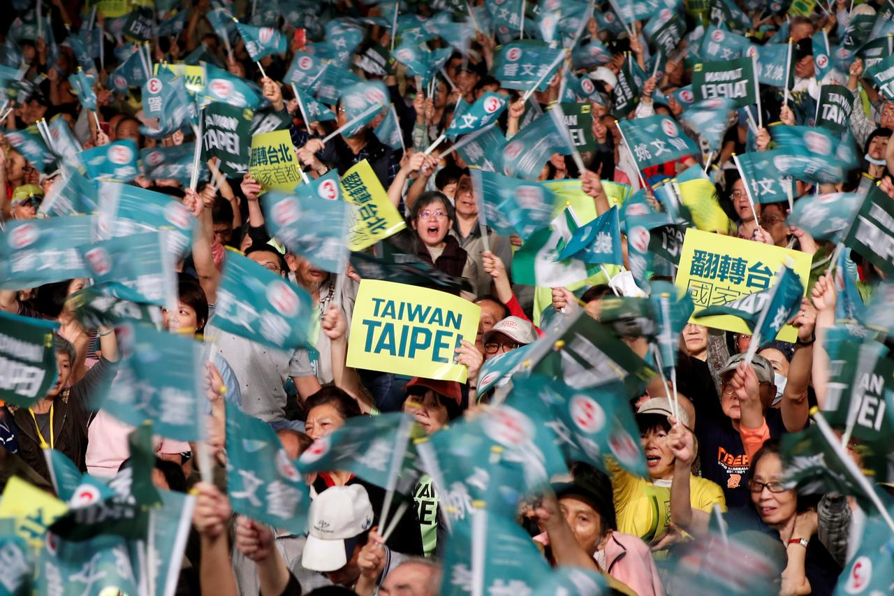 Image result for Taiwan's pro-independence party faces key elections amid China pressure