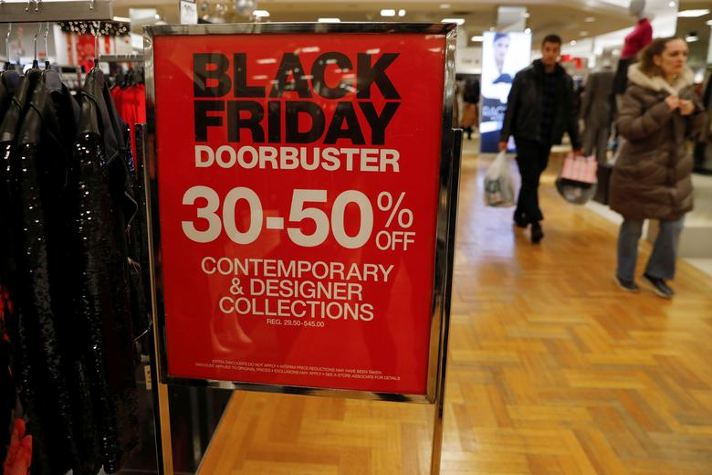 Black Friday Deals Lure U S Shoppers Biggest Sales Gains Online Reuters Com