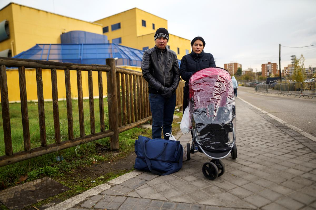 Wary of Trump's USA, Central American migrants find only despair in Spain