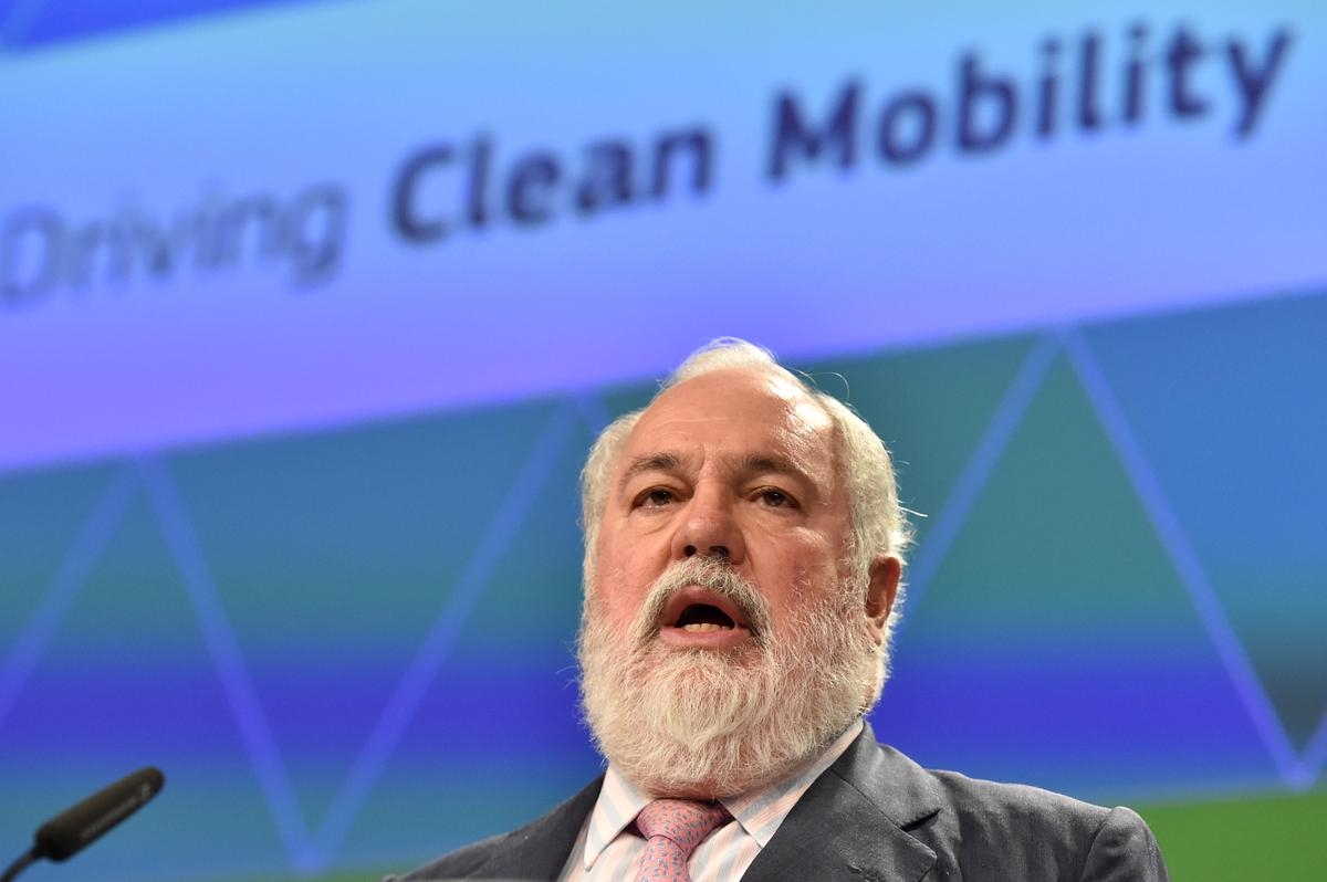 EU's climate chief calls for net-zero emissions by 2050