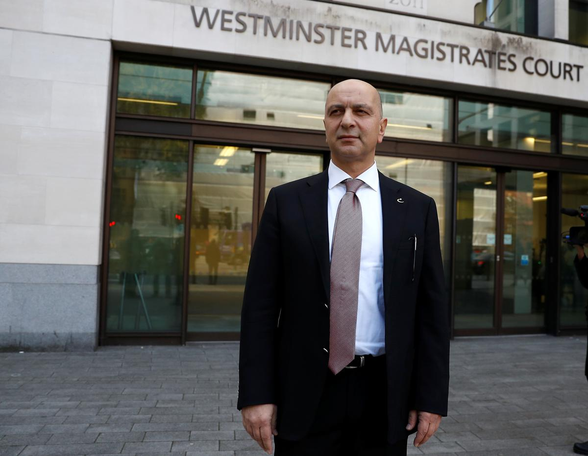 UK court rejects 'politically motivated' Turkish extradition request
