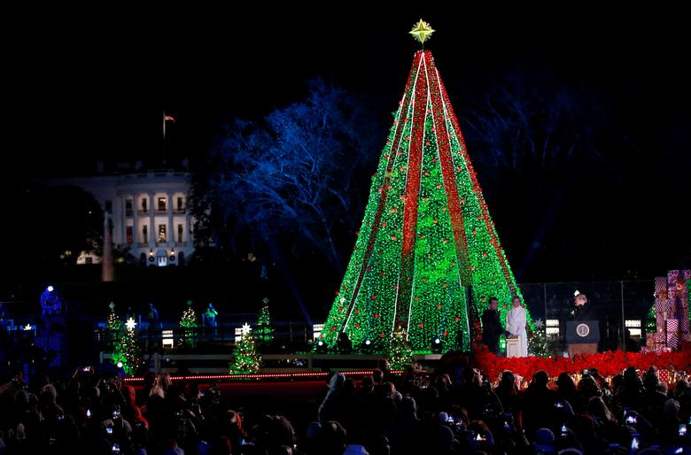 Christmas At The White House Reuters Com
