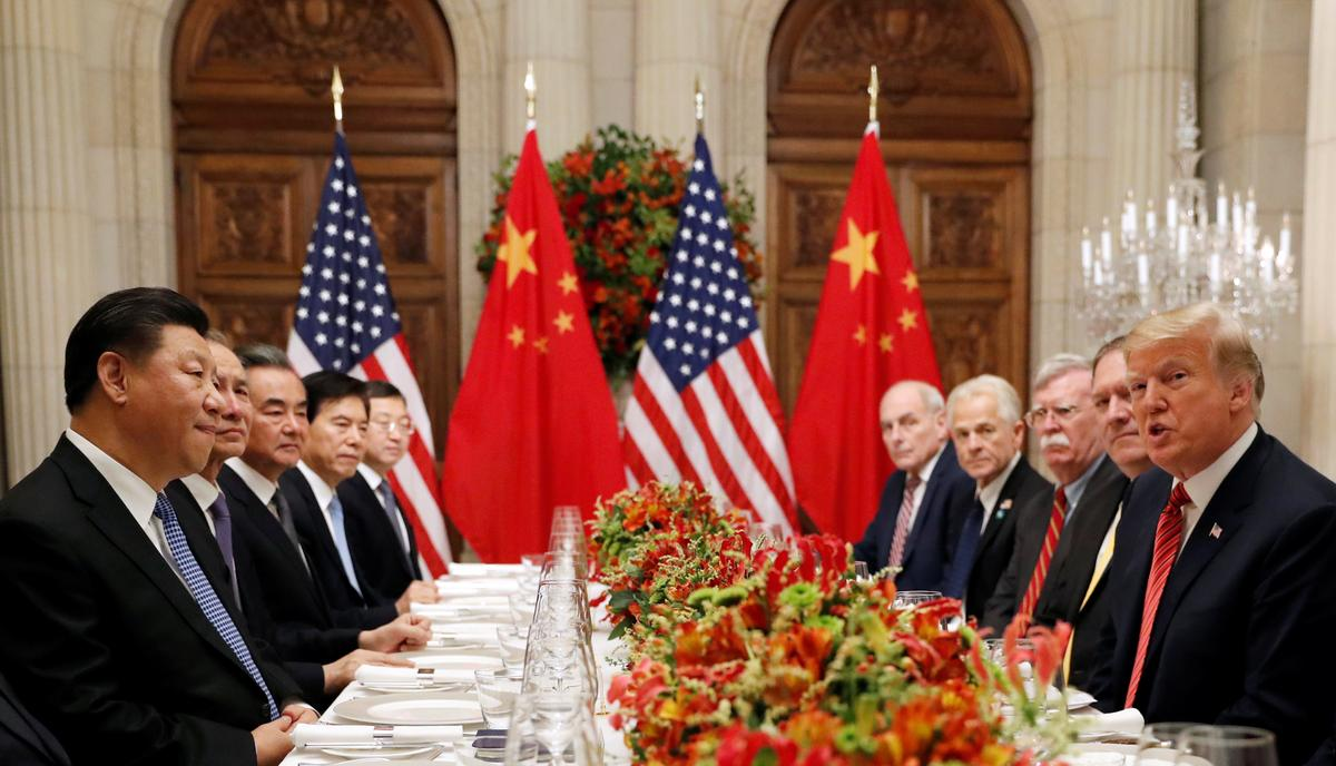 "Kết quả hình ảnh cho ""U.S., China agree on trade war ceasefire after Trump, Xi summit"""