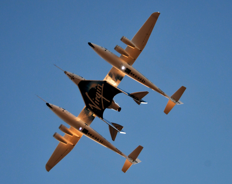 Virgin Galactic completes crewed space test, more flights