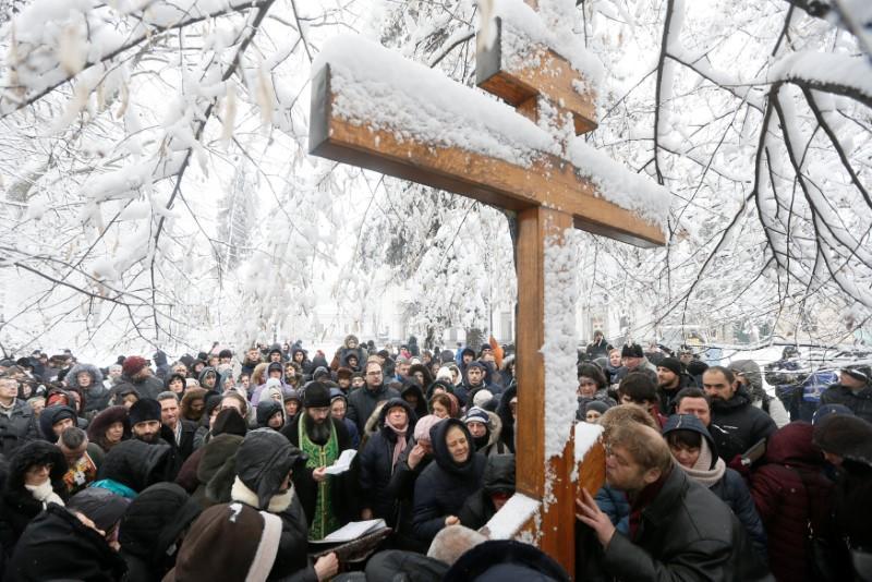"""Αποτέλεσμα εικόνας για russian priests demonstration in Moscow for ucrain shism"""""""